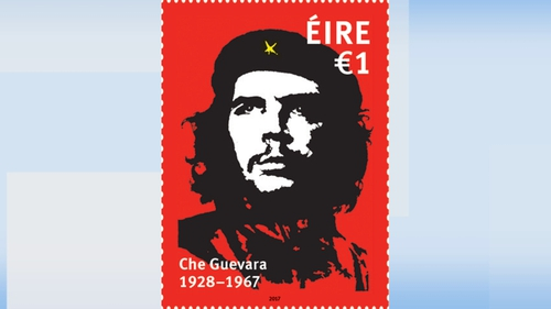 An Post unveiled the controversial €1 stamp on Friday