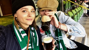Having the craic! Chloe Grace Moretz and Brooklyn Beckham making the most of their trip to Ireland