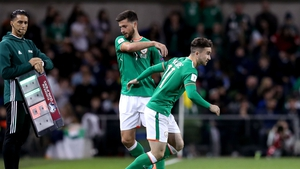 Sean Maguire came on for Shane Long last Friday