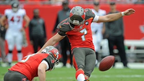 Patrick Murray was also the Tampa Bay kicker in 2014