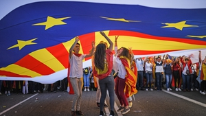 Pro-independence groups have called for a general strike today in Catalonia