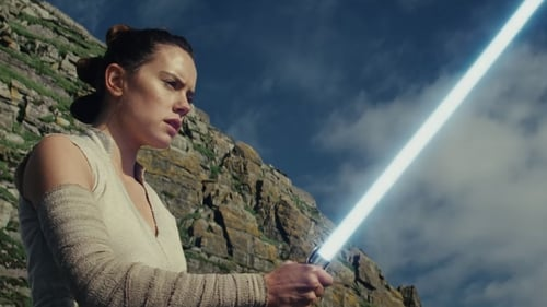 Daisy Ridley wields a lightsaber in the trailer for Star Wars: The Last Jedi
