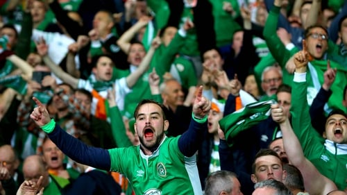 Republic of Ireland fans will hope they'll be heading for Bilbao next summer