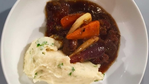 Gearoid's Hotpot with Horseradish Mash: Today