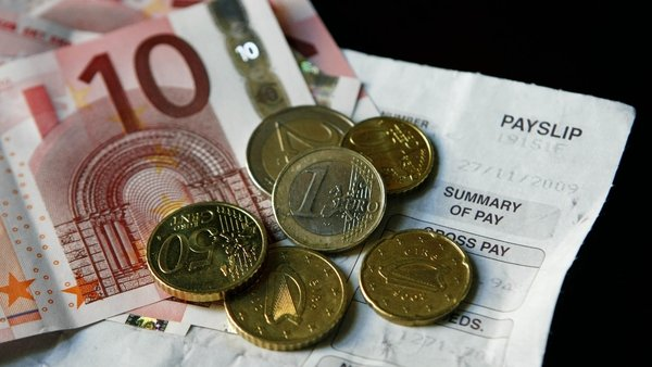 The Living Wage stands at €12.30, while the National Minimum Wage is €10.10