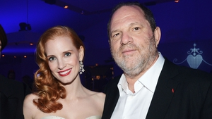Actress Jessica Chastain says she was warned about Harvey Weinstein