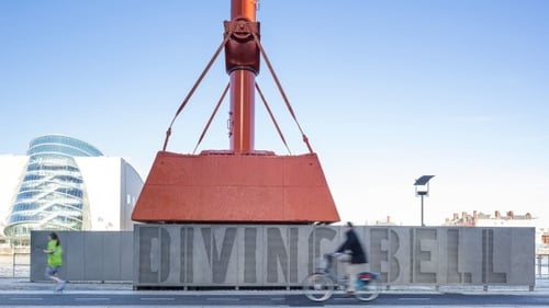 The Dublin Port Diving Bell (Mola Architecture, 2015). Photo: Donal Murphy
