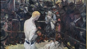 Jack B. Yeats' 1930 paintingThe Small Ring - the inspiration for this week's Painting The Nation challenges.