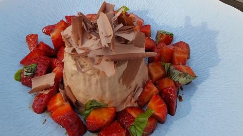 Neven Maguire's Chocolate & Hazelnut Semi-Freddo