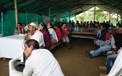FARC camp ,Colombia