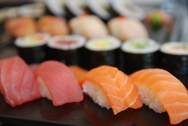 Salmon Nigiri Sushi Hosomaki
