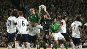 Will Ireland be facing Italian goalkeeper Gianluigi Buffon in the upcoming play-offs?