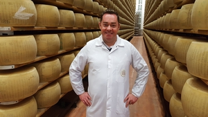 Neven visiting Parmesan producer Mulino Alimentare