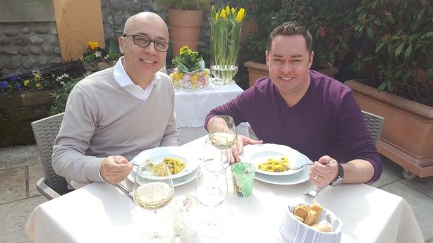 Neven-with-pasta-maker-Enrico-Bolla