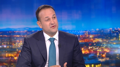 Leo Varadkar said that the measures introduced in today's Budget are 'sustainable steps'