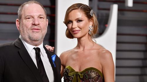 Harvey Weinstein's wife Georgina Chapman has announced she is leaving him