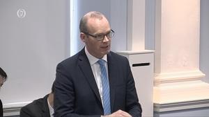 Simon Coveney addressed the Seanad
