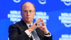 Laurence Fink, CEO of BlackRock Asset Managers, the world's biggest asset manager