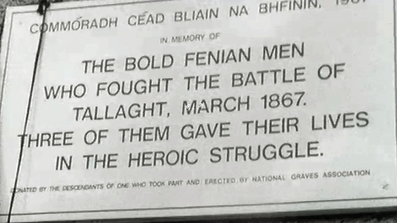Fenian Rising Commemoration in Tallaght (1867)