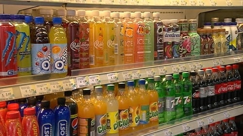 Drinks containing between five and eight grammes of sugar will cost an additional 20 cent per litre
