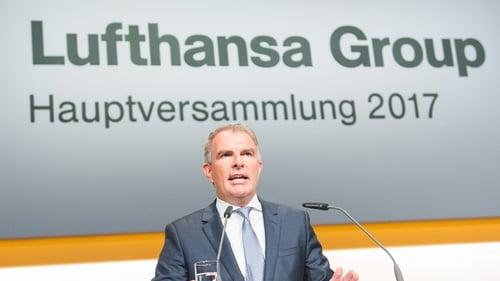 Lufthansa's CEO Carsten Spohr