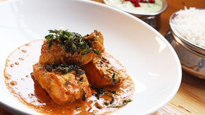Sunil Ghai's Fish Curry: Today