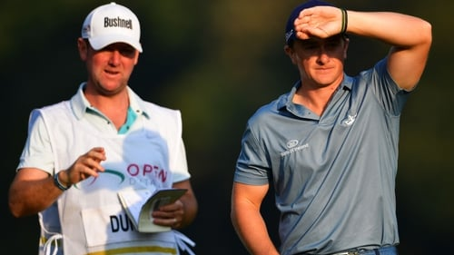 Paul Dunne made a bright start in Monza