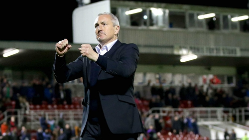 John Caulfield: 'Nothing comes easy, but we are in the driving seat.'