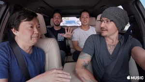 Chester Bennington took the driver's seat for the segment, which was hosted by The Hangover's Ken Jeong