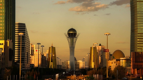 Astana, the capital of Photo: Mariusz Kluzniak https://www.flickr.com/photos/39997856@N03/