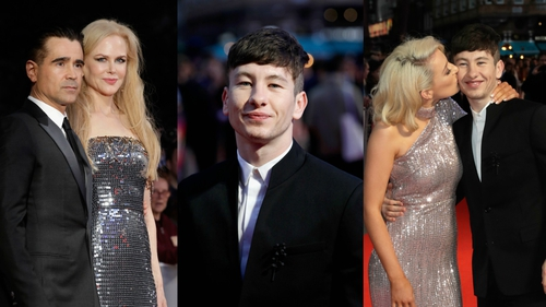 Barry Keoghan rocks the BFI red carpet