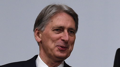 Philip Hammond said the UK has to negotiate with 'the enemy' to get a good deal