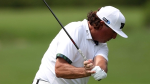 Pat Perez is four clear