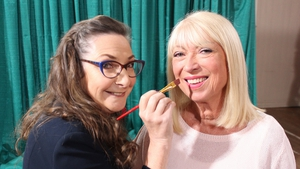 When legends meet: Pauline McLynn gives Anne Doyle the brush-off on this week's Painting The Nation