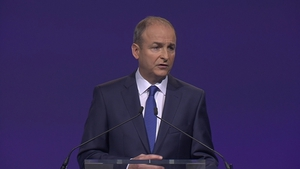 Micheál Martin said the Fine Gael had taken a big move to the right in recent months under the leadership of Leo Varadkar
