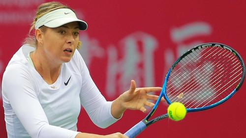 Maria Sharapova has not played since January
