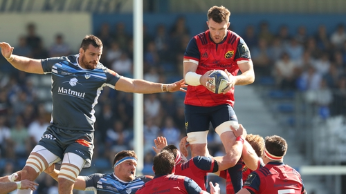 Munster led early in the second half but the home side restored parity as the game finished 17-17