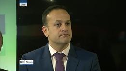 Taoiseach Leo Varadkar   Ophelia Storm Update