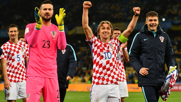 Greece to face Croatia in World Cup play-offs