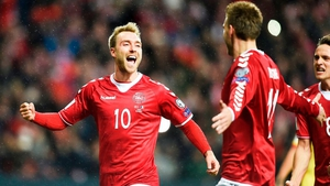 Denmark will be looking to Christian Eriksen to propel them to next summer's finals