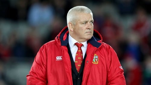 Warren  Gatland has been named Lions head coach for the third time