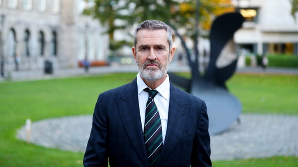 Actor-turned-filmmaker Rupert Everett, pictured in Trinity College Dublin last week