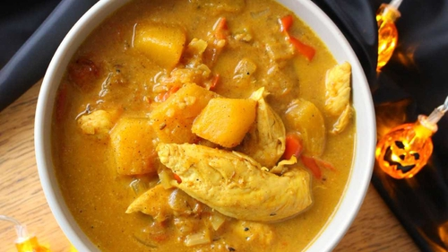 The Wonky Spatula's Chicken & Pumpkin Curry