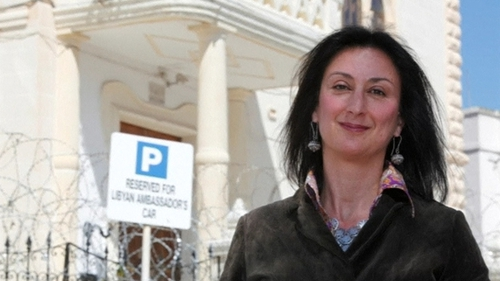 Daphne Caruana Galizia died in a car bomb in 2017