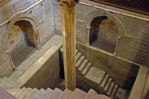 The Nilometer at Rawda, Cairo, used for measuring levels in the Nile