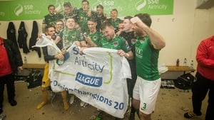 Cork City players won the double