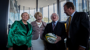 Michael D Higgins called on the Irish diaspora in Australia to engage in the effort to secure the tournament