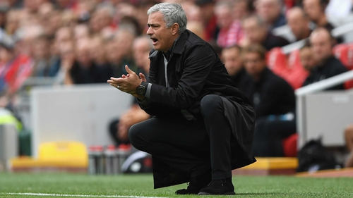Jose Mourinho: 'I'm at Manchester United, I have a contract and that's it.'