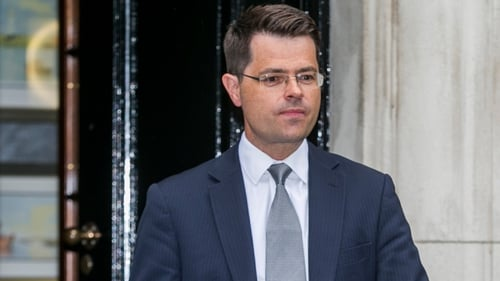 "James Brokenshire said he would find it ""impossible"" for Northern Ireland to remain inside while the rest of the UK is out"