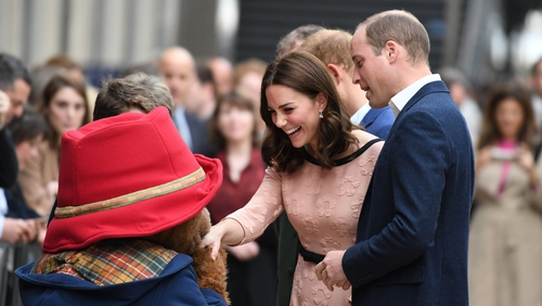 Kate Middleton wears dress by Irish designer Orla Kiely